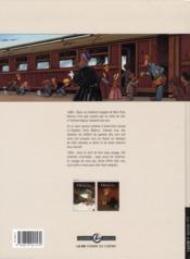 Le train des orphelins t.1 ; Jim - 4ème de couverture - Format classique