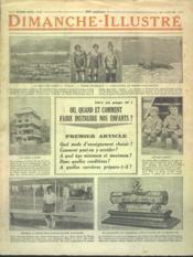 Dimanche Illustre N°277 du 17/06/1928 - Couverture - Format classique
