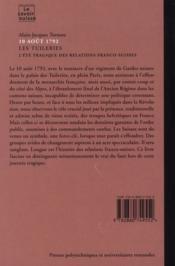 10 Aout 1792. Les Tuileries. L'Ete Tragique Des Relations Franco-Suisses. N84 - 4ème de couverture - Format classique