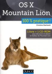 Vente livre :  Mac OS X Mountain Lion  - Christine Eberhardt