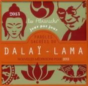 Vente  Almaniak paroles sacrées du Dalaï Lama 2013  - Collectif