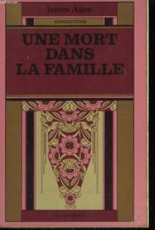 Une Mort Dans La Famille. - Couverture - Format classique