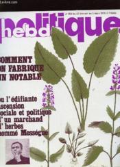 Politique Hebdo N°302 - Comment On Fabbrique Un Notable - Couverture - Format classique
