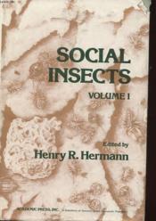 Social Insects Volume 1 - Couverture - Format classique