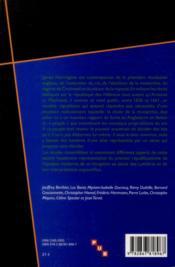 Harrington Et Le Republicanisme A L Age Classique - 4ème de couverture - Format classique