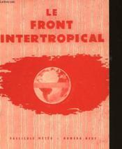 Fascicule Meteo - N°9 - Le Front Intertropical - Couverture - Format classique