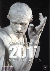 Vente livre :  Commemorations Nationales 2017  - Collectif