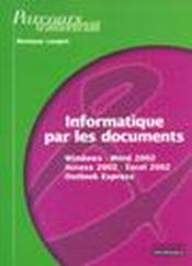 Informat par documents xp  - Collectif - Monique Langlet