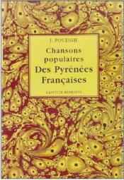 Chansons populaires des Pyrénées françaises - Couverture - Format classique
