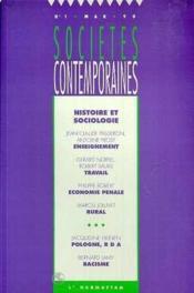 Histoire Et Sociologie - Couverture - Format classique
