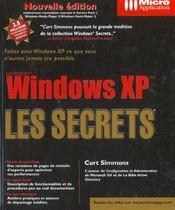 Windows xp ; les secrets - Intérieur - Format classique