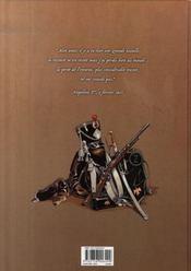 Souvenirs de la grande armée t.1 ; 1807, il faut venger austerlitz - 4ème de couverture - Format classique