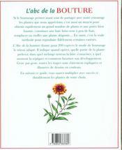 L'Abc De La Bouture - 4ème de couverture - Format classique
