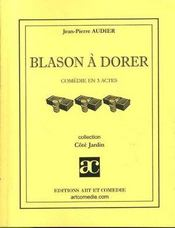 Blason à dorer - Intérieur - Format classique