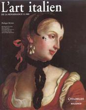 L'art italien, de la renaissance a 1905 - Intérieur - Format classique