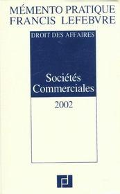 Memento societes commerciales ; edition 2002 - Intérieur - Format classique