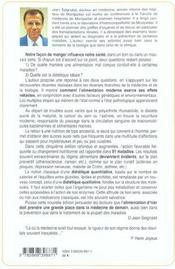 Alimentation Ou La Troisieme Medecine 5eme Edition - 4ème de couverture - Format classique