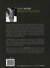 Elvira Puccini - 4ème de couverture - Format classique