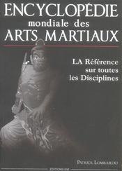 Encyclopedie mondiale des arts martiaux - Intérieur - Format classique