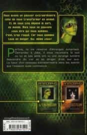 Animorphs t.1 ; l'invasion - 4ème de couverture - Format classique