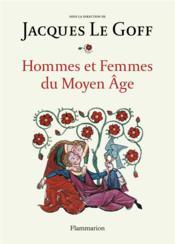 Hommes et femmes du moyen âge - Couverture - Format classique