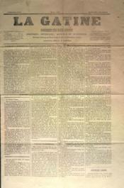 Gatine (La) N°38 du 04/12/1870 - Couverture - Format classique