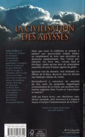La civilisation des abysses - 4ème de couverture - Format classique