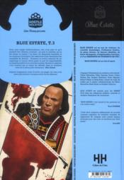 Blue estate t.3 - 4ème de couverture - Format classique