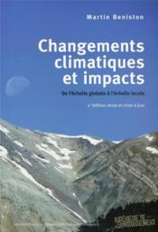 Changements climatiques et impacts ; de l'échelle globale à l'échelle locale (2e édition) - Couverture - Format classique
