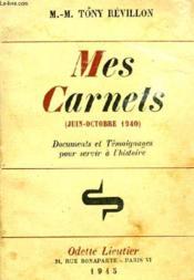 Mes Carnets - Couverture - Format classique