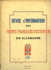 Revue D'Information Des Troupes Francaises D'Occupation En Allemagne - Numero 6 - Couverture - Format classique