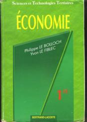 Economie 1re stt - Couverture - Format classique