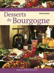 Meilleurs desserts de Bourgogne - Couverture - Format classique