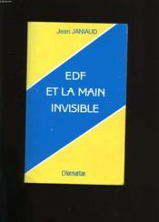 Edf Et La Main Invisible - Couverture - Format classique