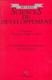 Le Developpement Economique De Saint-Martin - Couverture - Format classique
