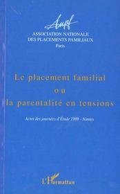 Revue Africultures T.31 ; Le Placement Familial Ou La Parentalité En Tensions ; Actes Des Journées D'Etudes 1999 Nantes - Intérieur - Format classique