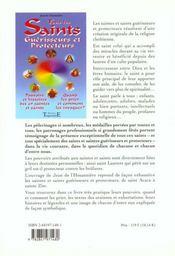 Tous Les Saints Guerisseurs Et Protecteurs - 4ème de couverture - Format classique