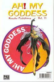 Ah! my goddess t.11 - 4ème de couverture - Format classique