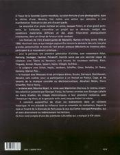 Festivals de l'art d'avant garde - 4ème de couverture - Format classique