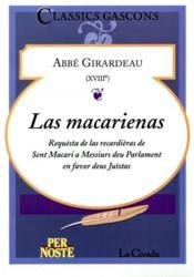 Las Macarienas - Couverture - Format classique