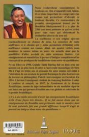 Les Quatre Verites Des Nobles Aryas - 4ème de couverture - Format classique