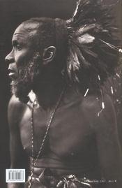 Zagourski ; L'Afrique Disparue - 4ème de couverture - Format classique