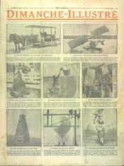 Dimanche Illustre N°279 du 01/07/1928 - Couverture - Format classique