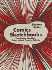 Comics Sketchbooks (Paperback) /Anglais - Couverture - Format classique