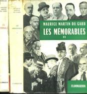 Les Memorables. En 2 Tomes. - Couverture - Format classique
