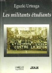 Les Militants Etudiants - Couverture - Format classique