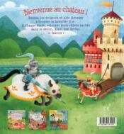 Chevaliers : Mon Livre-Jeu - 4ème de couverture - Format classique
