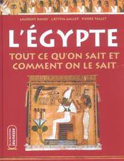 L'egyptologie ; tout ce qu'on sait - Intérieur - Format classique