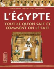 L'egyptologie ; tout ce qu'on sait - Couverture - Format classique