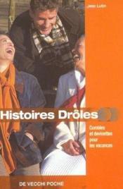 Histoires Droles Pour Les Vacances Poche - Couverture - Format classique